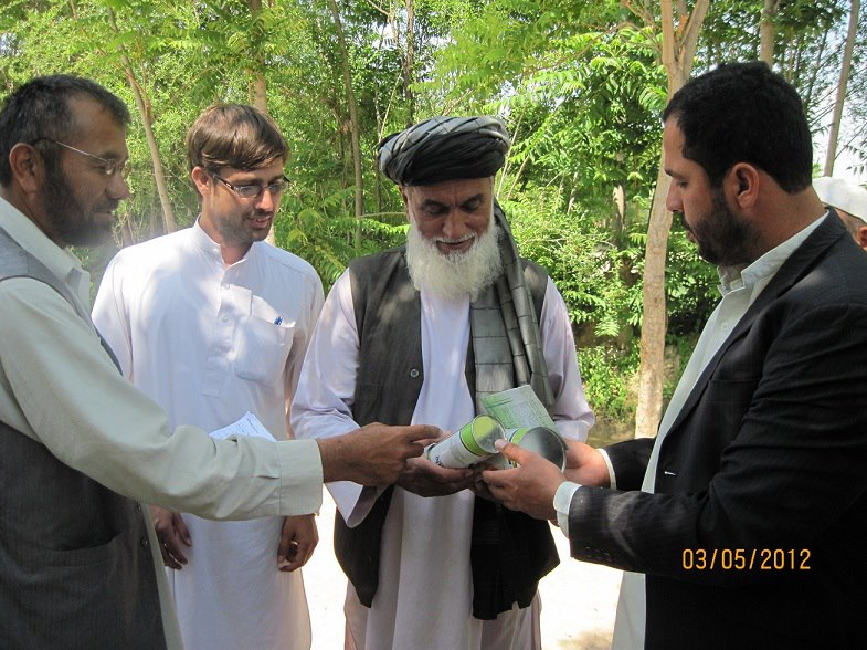 Seeds Distribution to Farmers in Baghlan-e-Markazi