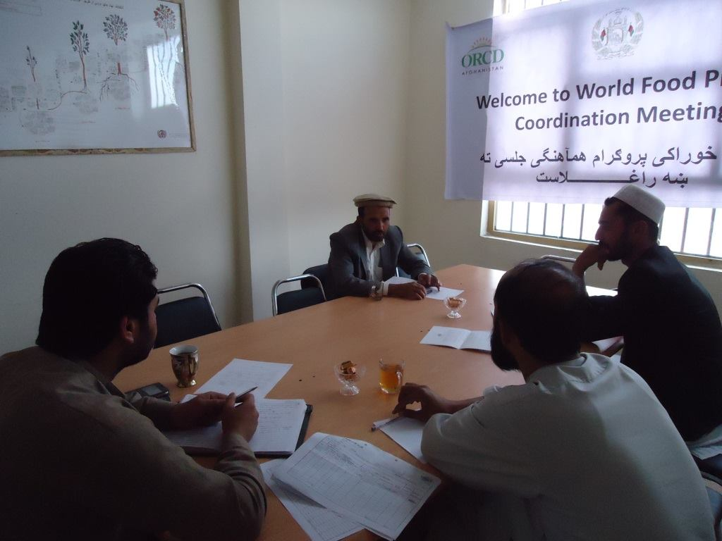 WFP coordination meeting in Paktika Province